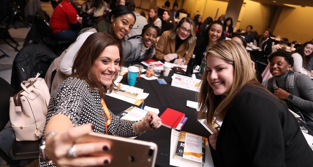 Students at NRF Student Big Show 2018 Enjoy the Executive Mentor Experience