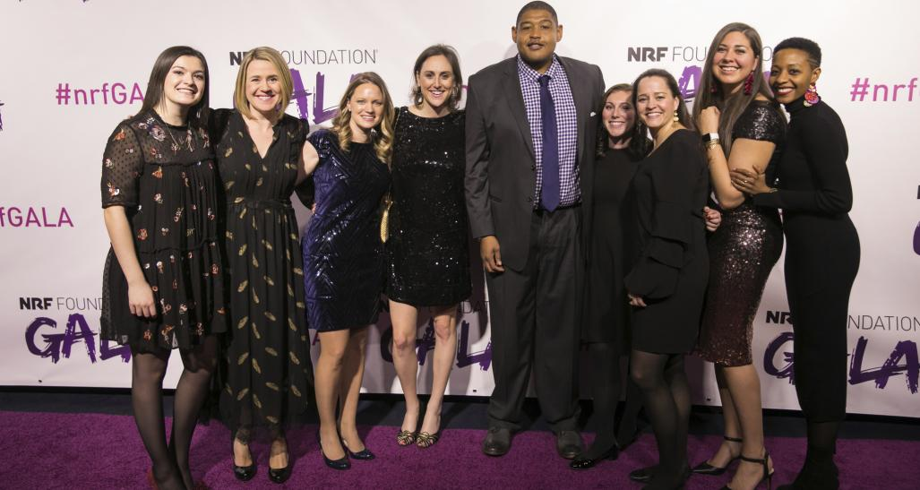 Foundation team at 2018 NRF Foundation Gala