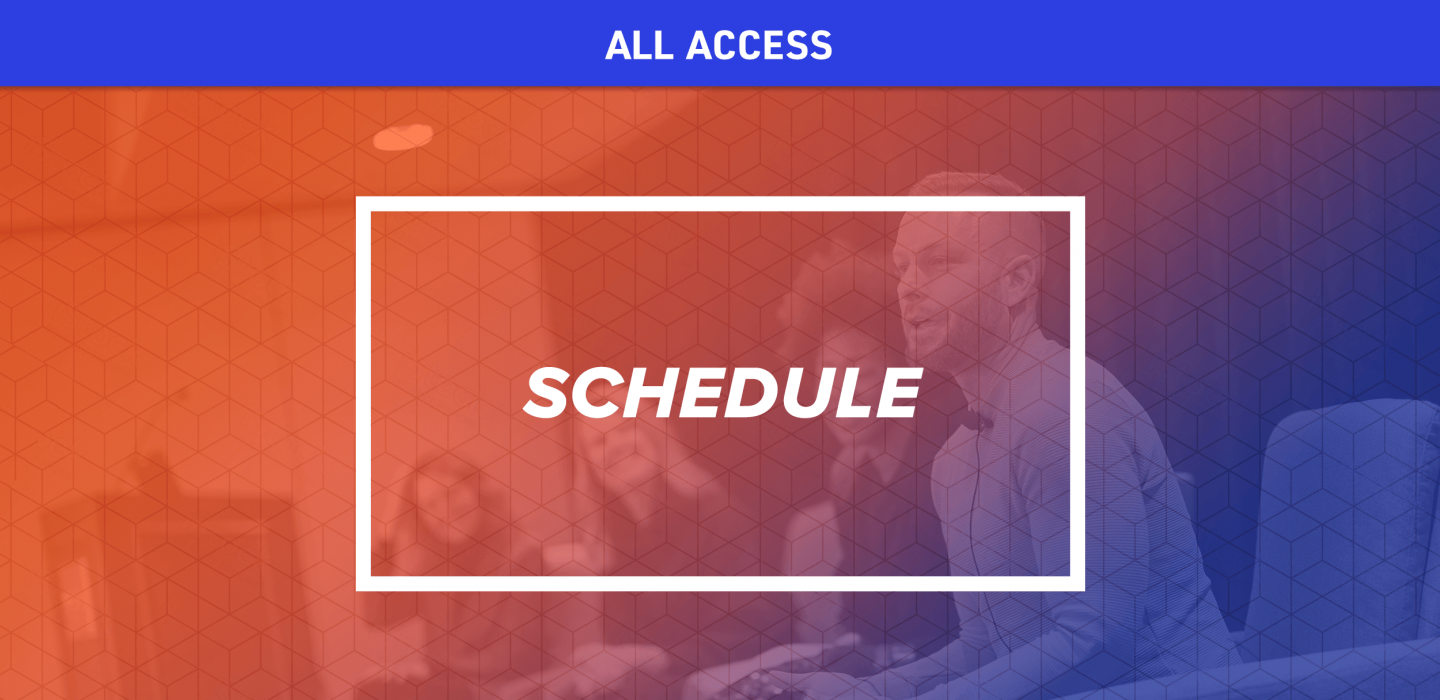 NRF Foundation ALL ACCESS - Schedule