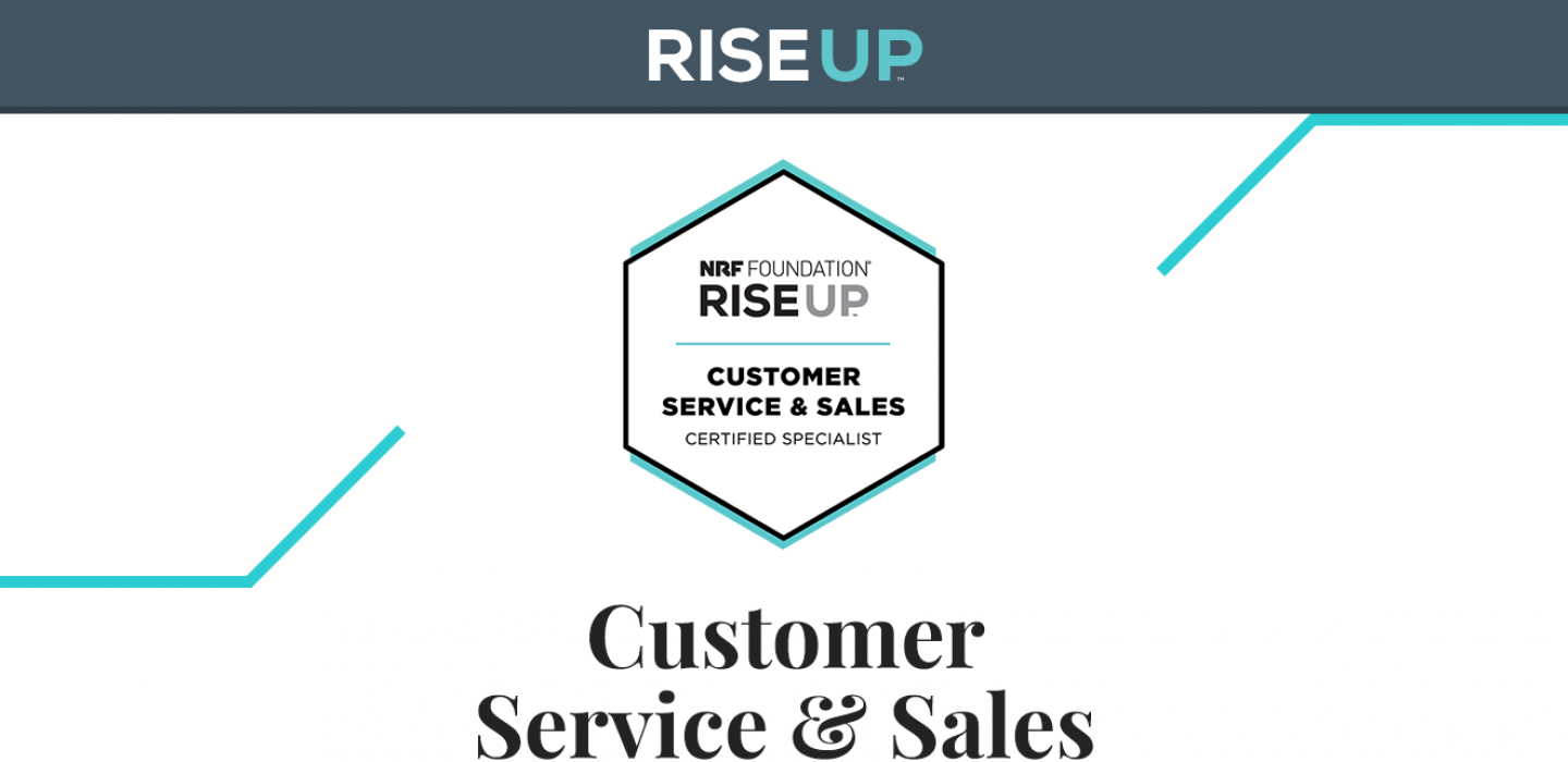 NRF Foundation RISE Up - Customer Service & Sales