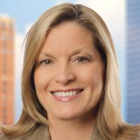 A headshot of Susan Hart, the Global Retail Practice Leader of Spencer Stuart