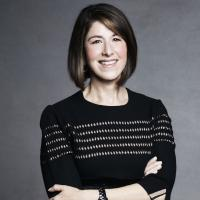 A headshot of Karen Katz, Neiman Margus Group Board of Directors, Former President and CEO