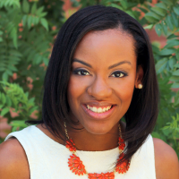 A headshot of Talia Watts, the Marketplace Merchandising Manager at Nike