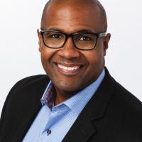 headshot of NRF Foundation Board Member Damu McCoy
