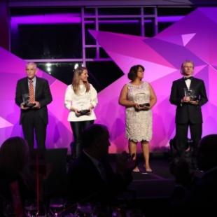 Award recipients at Gala 2018