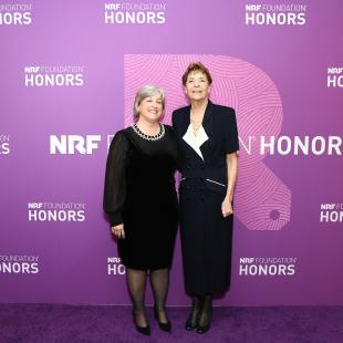RISE Up Partner of the Year honorees at NRF Foundation Honors step and repeat