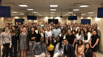 students and interns from Macy's