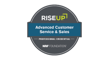RISE Up - Advanced Customer Service and Sales - NRF Foundation