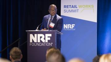 Speaker at the  NRF Foundation's Retail Works Summit