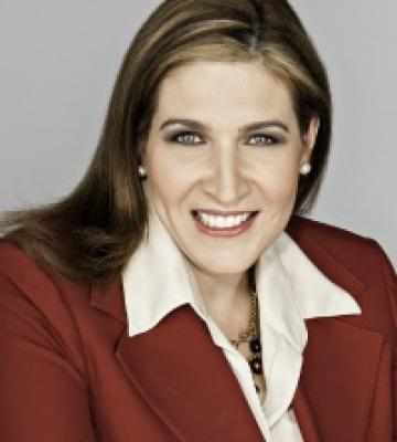 A headshot of Bea Perez, the Chief Sustainability Officer of The Coca-Cola Company