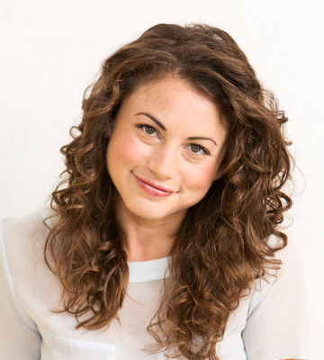 A headshot of Debbie Sterling, the founder and CEO of GoldieBox