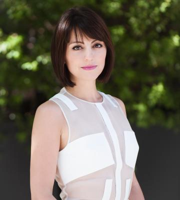 A headshot of Deena Varshavskaya, the founder and CEO of Wanelo