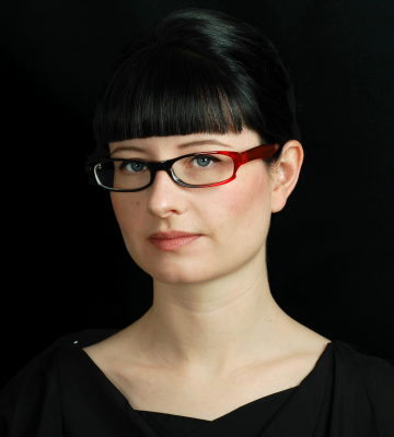 A headshot of Julia Fowler, a co-founder of EDITD