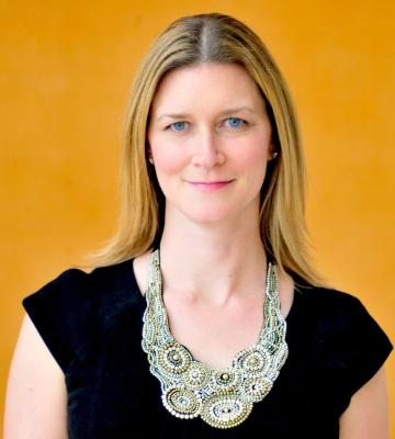 A headshot of Kindley Walsh-Lawlor, the vice president of global sustainability at GAP, Inc.