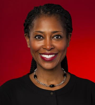 A headshot of Laysha Ward, the president and chief corporate social responsibility officer of Target