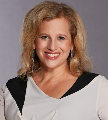 A headshot of Marisa Thalberg, the Chief Marketing Officer of Taco Bell Corp.