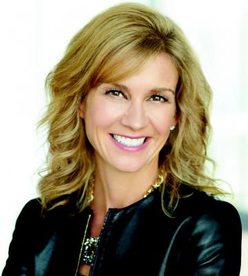 A headshot of Michelle Gass, the Chief Merchandising and Customer Officer of Kohl's