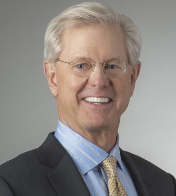A headshot of Tom Buxton, the president and CEO of Buxton Co.