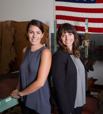 Lisa Bradley and Cameron Cruse, Co-founders, R. Riveter, The List 2019