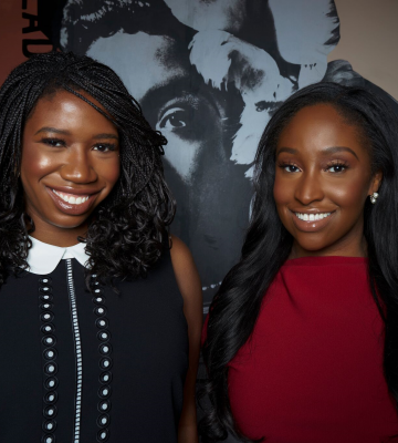 Amanda E. Johnson and KJ Miller, Co-founders, Mented Cosmetics, 2019 Dreamers