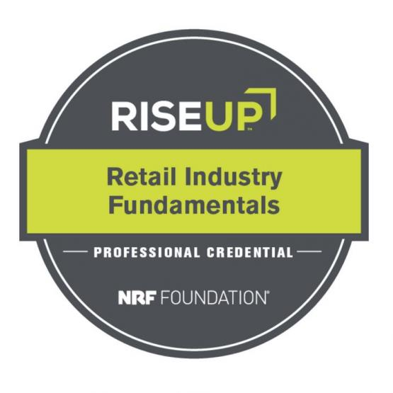Retail industry fundamentals badge