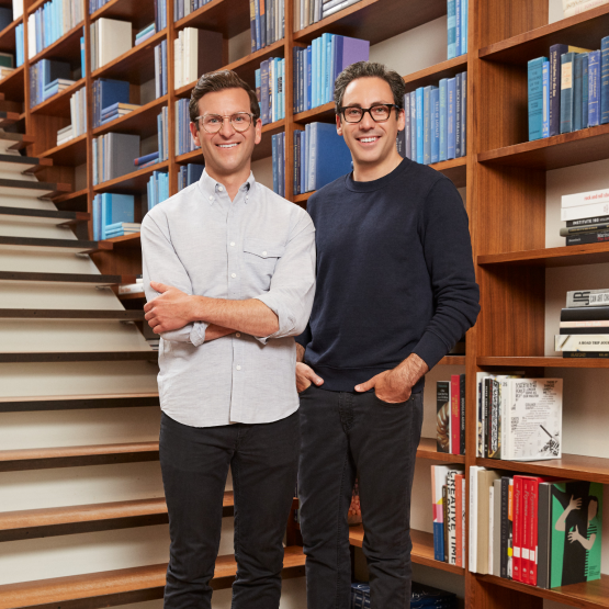 Neil Blumenthal and Dave Gilboa, co-founders and co-CEOs, Warby Parker, 2019 Power Players