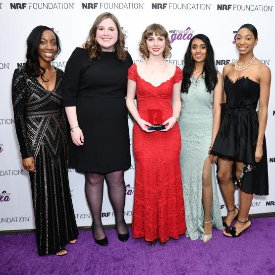 Next Generation finalists at the 2019 NRF Foundation Gala