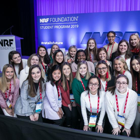 Student attendees at the NRF Foundation's 2019 Student Program
