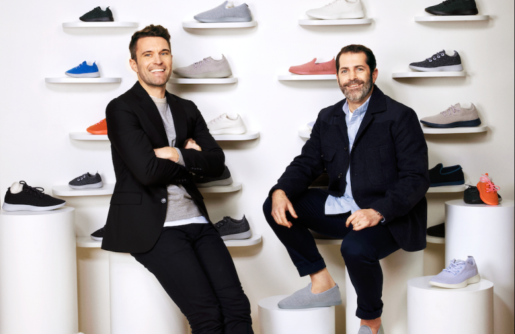 Co-founders and co-CEOs of Allbirds