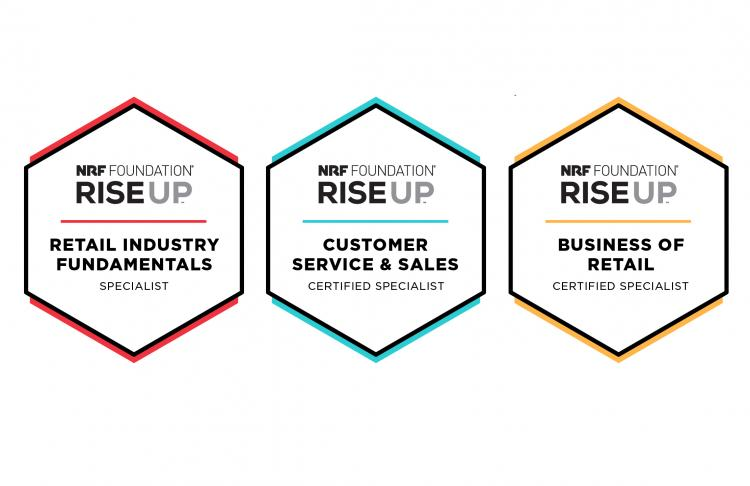 RISE Up credential badges